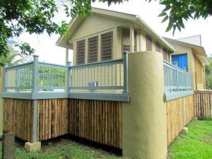 house, back deck