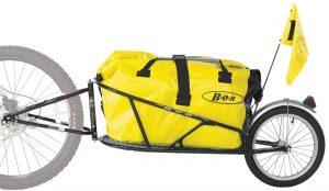 BOB Yak trailer with dry bag