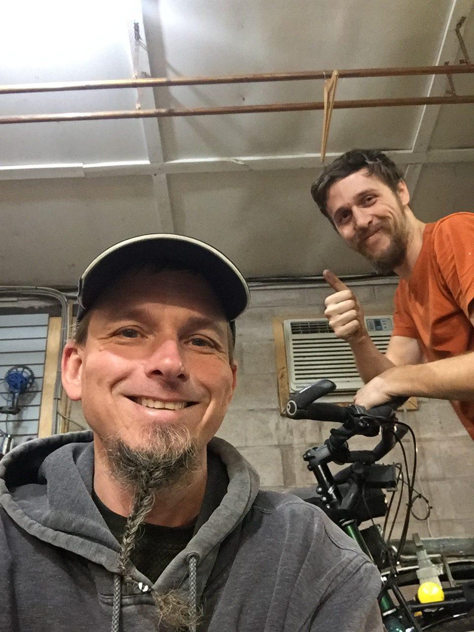 Mattieu Fraser of Highland Bike Shop