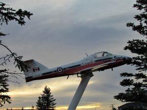 Snowbird airplane display