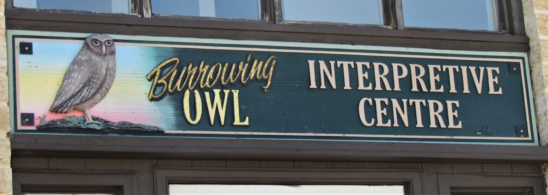 I visited the Burrowing Owl Interpretive Centre