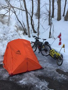 stealth camping in Quebec