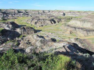 Horseshoe Canyon badlands landscape
