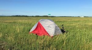 stealth camping in Saskatchewan