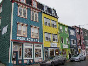 Jellybean Row in St Johns Newfoundland