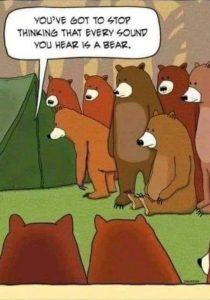 camping joke comic