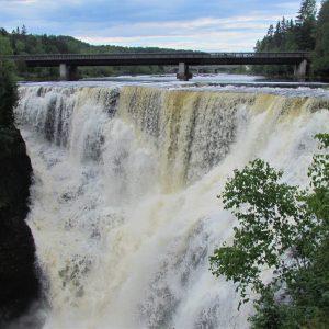 Kakebeka Falls in northern Ontario