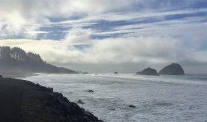 California Pacifc ocean and coast