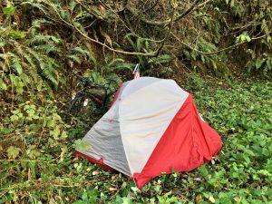 stealth campsite in California