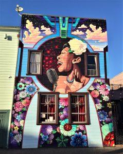 mural at Eureka California