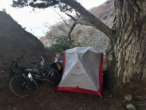 stealth camping in California