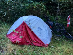Stealth camping on Vancouver Island