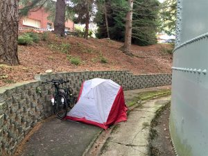 stealth camping in Washington