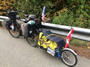 Using my trailer to carry my solar panel