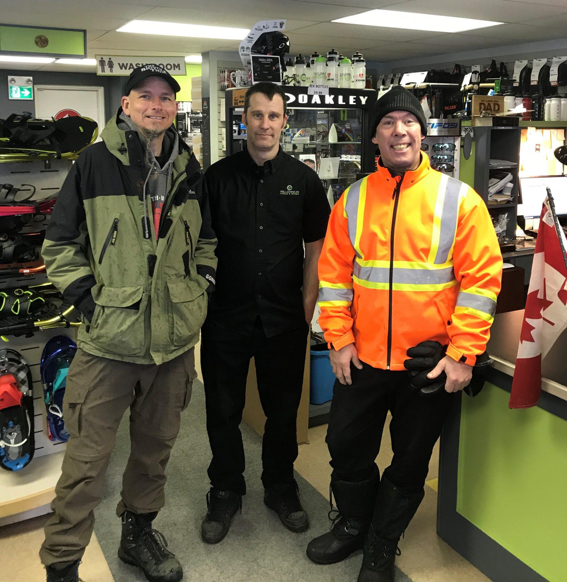 Dean Roberts of Millennium Cycle & Sport shop