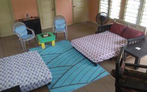 livingroom, futons, chairs