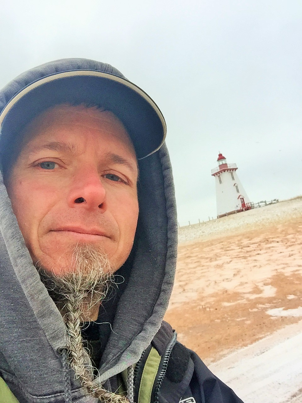 Why this man is lingering over his winter bike ride through Atlantic Canada
