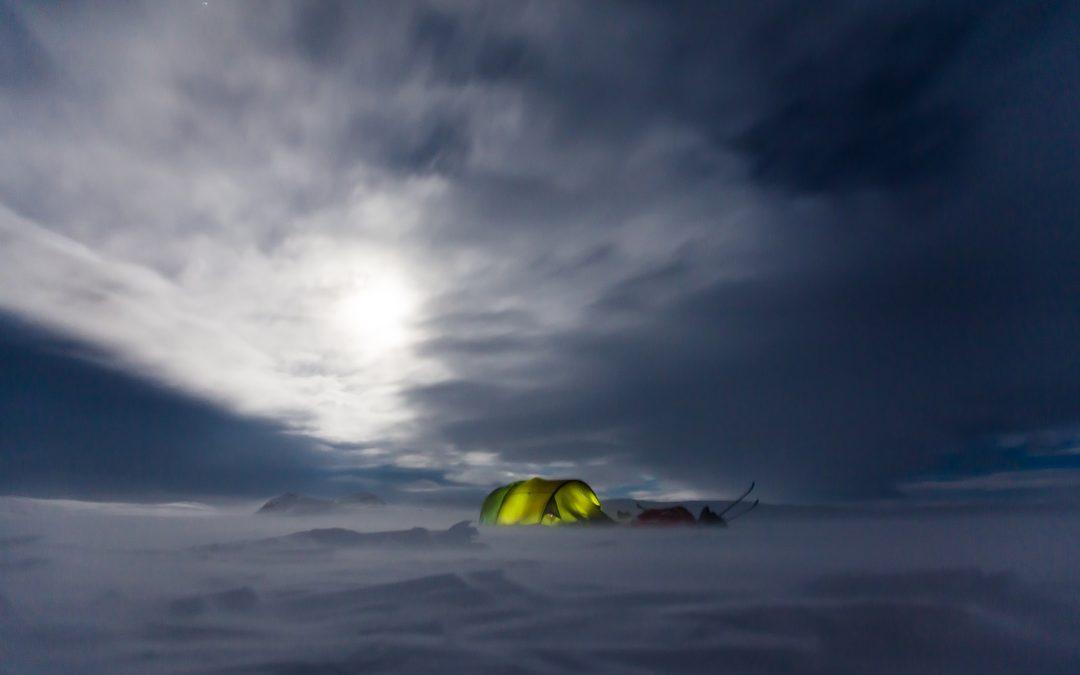 Winter Camping and Biking