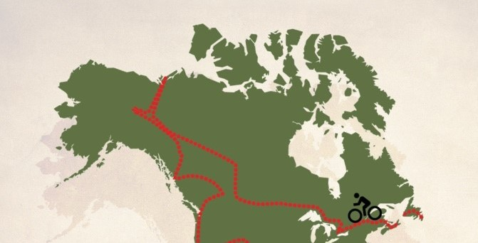 Predictions For Biking Across Canada During A Cold Winter