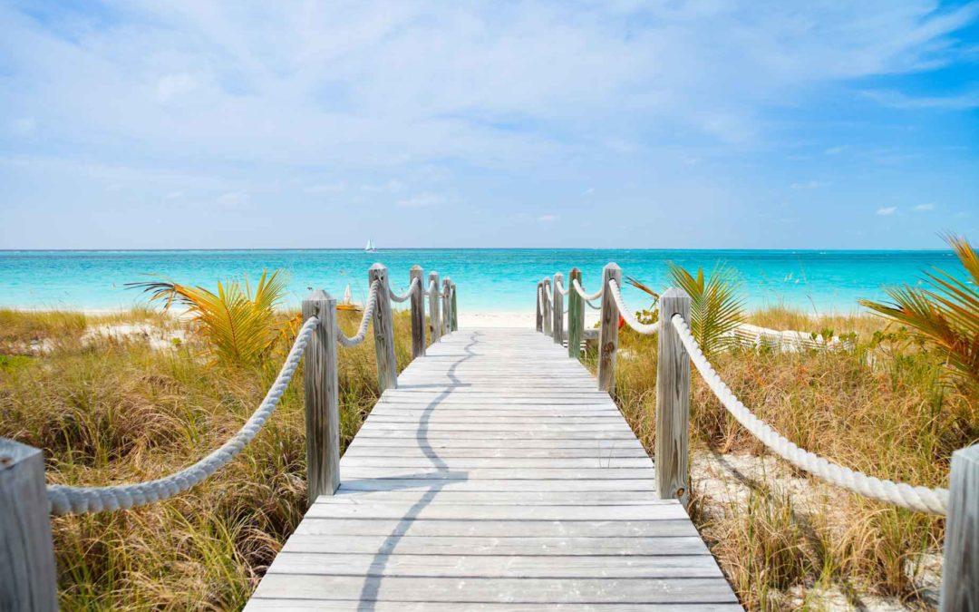 The dream, beach, ocean, walkway